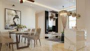 Thiết kế nội thất Vinhomes Dcapitale căn 3 phòng ngủ - anh Công 4
