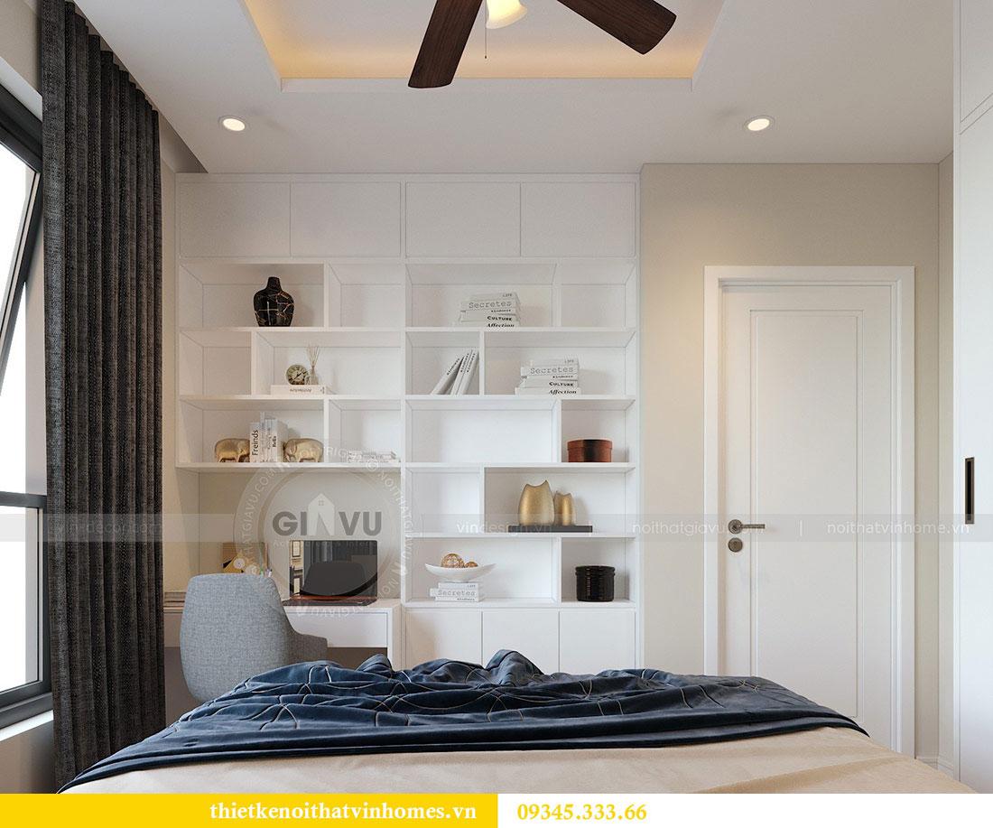 Thiết kế nội thất Vinhomes Dcapitale căn 3 phòng ngủ - anh Công 9