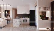 Tham khảo mẫu thiết kế nội thất chung cư phong cách hiện đại - anh Bình 1