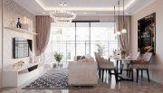 Tham khảo mẫu thiết kế nội thất chung cư phong cách hiện đại - anh Bình 2