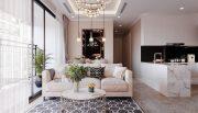 Tham khảo mẫu thiết kế nội thất chung cư phong cách hiện đại - anh Bình 3
