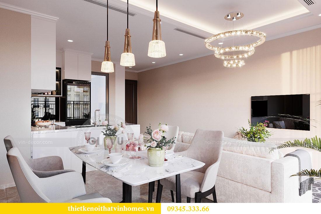 Tham khảo mẫu thiết kế nội thất chung cư phong cách hiện đại - anh Bình 5