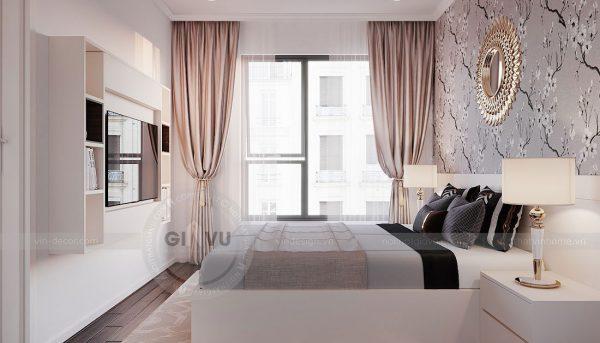 Tham khảo mẫu thiết kế nội thất chung cư phong cách hiện đại - anh Bình 7