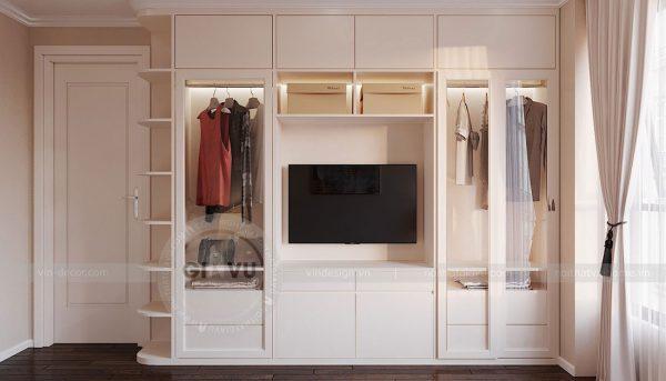 Tham khảo mẫu thiết kế nội thất chung cư phong cách hiện đại - anh Bình 9
