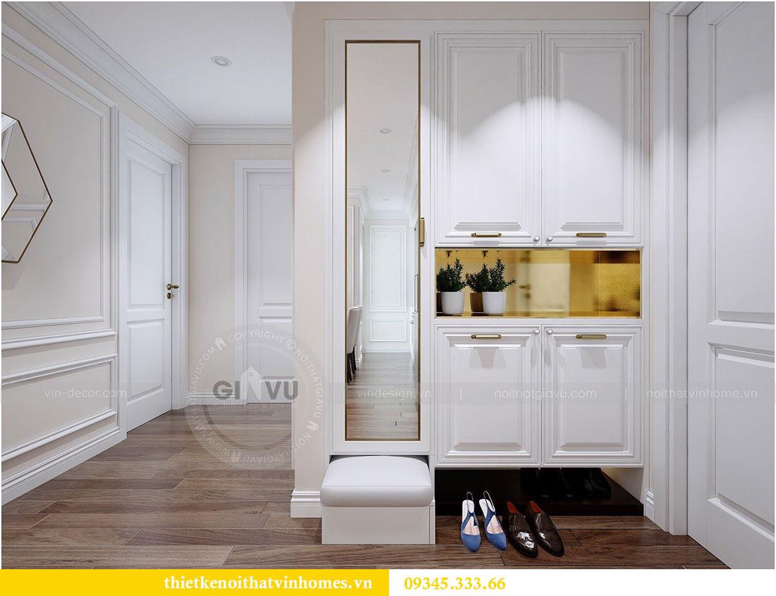 Thiết kế nội thất chung cư Dcapitale tòa C1 1