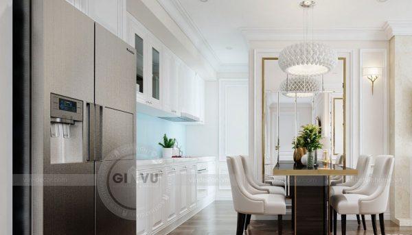 Thiết kế nội thất chung cư Dcapitale tòa C1 2