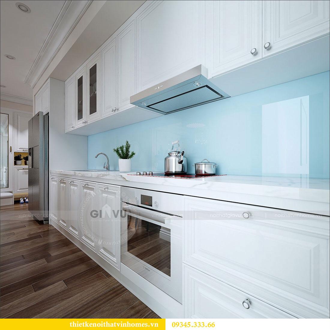 Thiết kế nội thất chung cư Dcapitale tòa C1 3