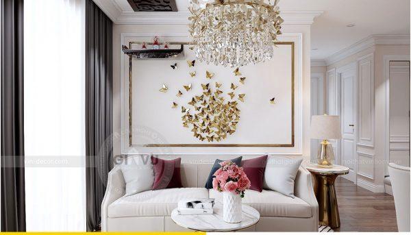 Thiết kế nội thất chung cư Dcapitale tòa C1 4