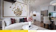 Thiết kế nội thất chung cư Dcapitale tòa C1 5