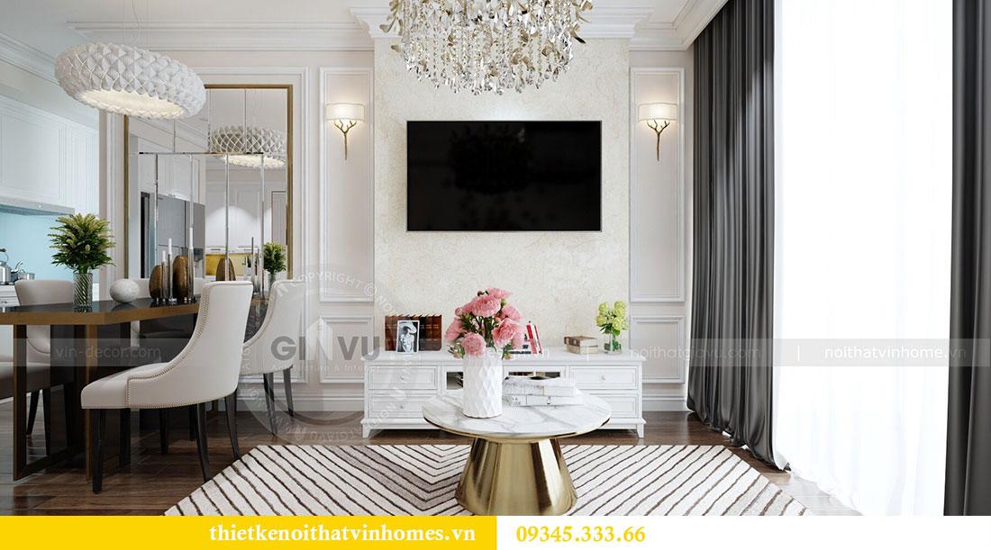 Thiết kế nội thất chung cư Dcapitale tòa C1 6