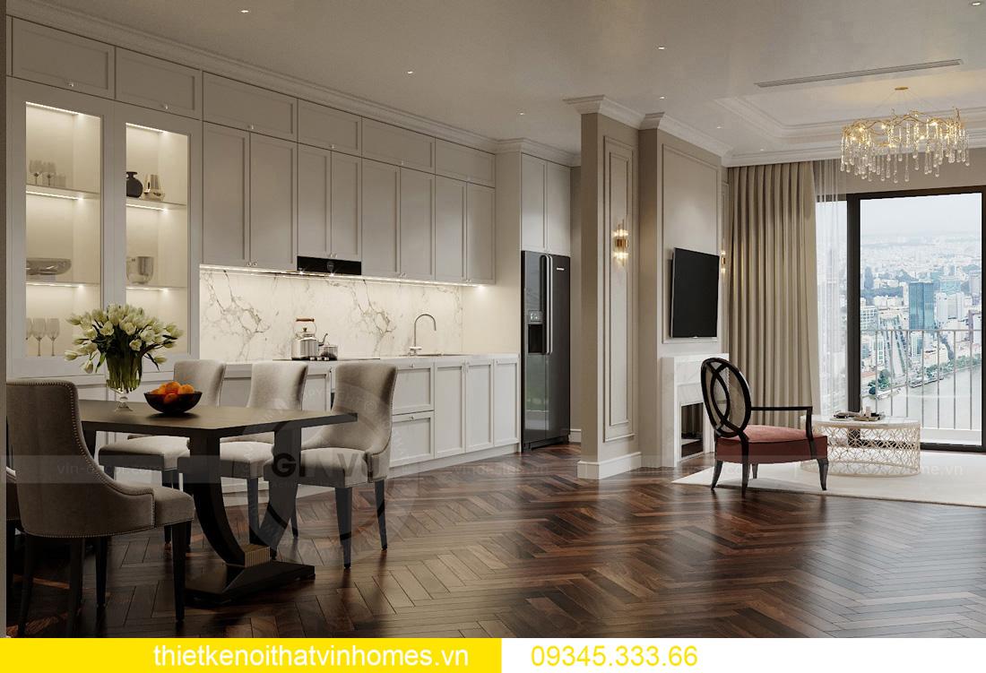 thiết kế nội thất chung cư Vinhomes West Point tòa W3 căn hộ 05A 02