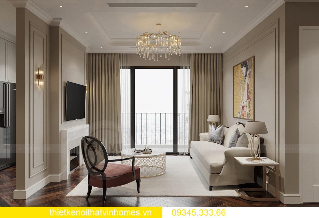 thiết kế nội thất chung cư Vinhomes West Point tòa W3 căn hộ 05A 03