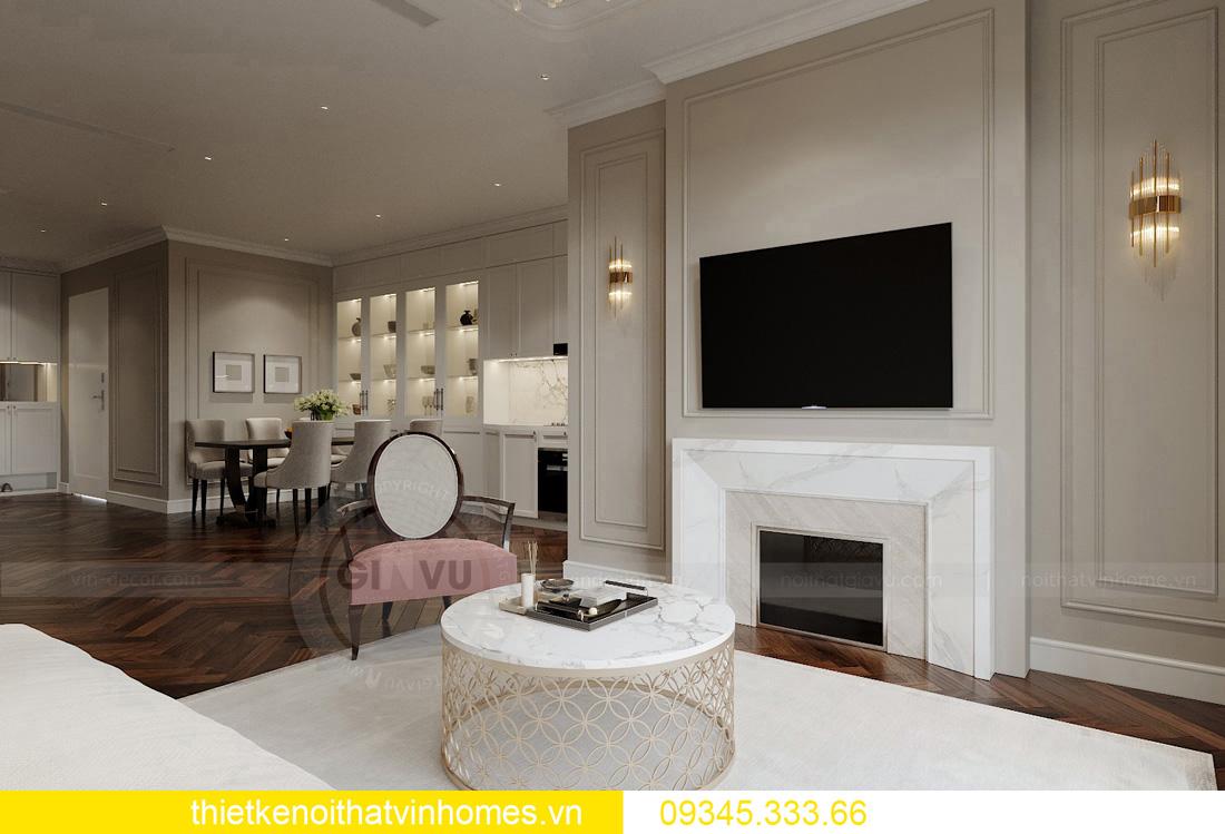thiết kế nội thất chung cư Vinhomes West Point tòa W3 căn hộ 05A 04