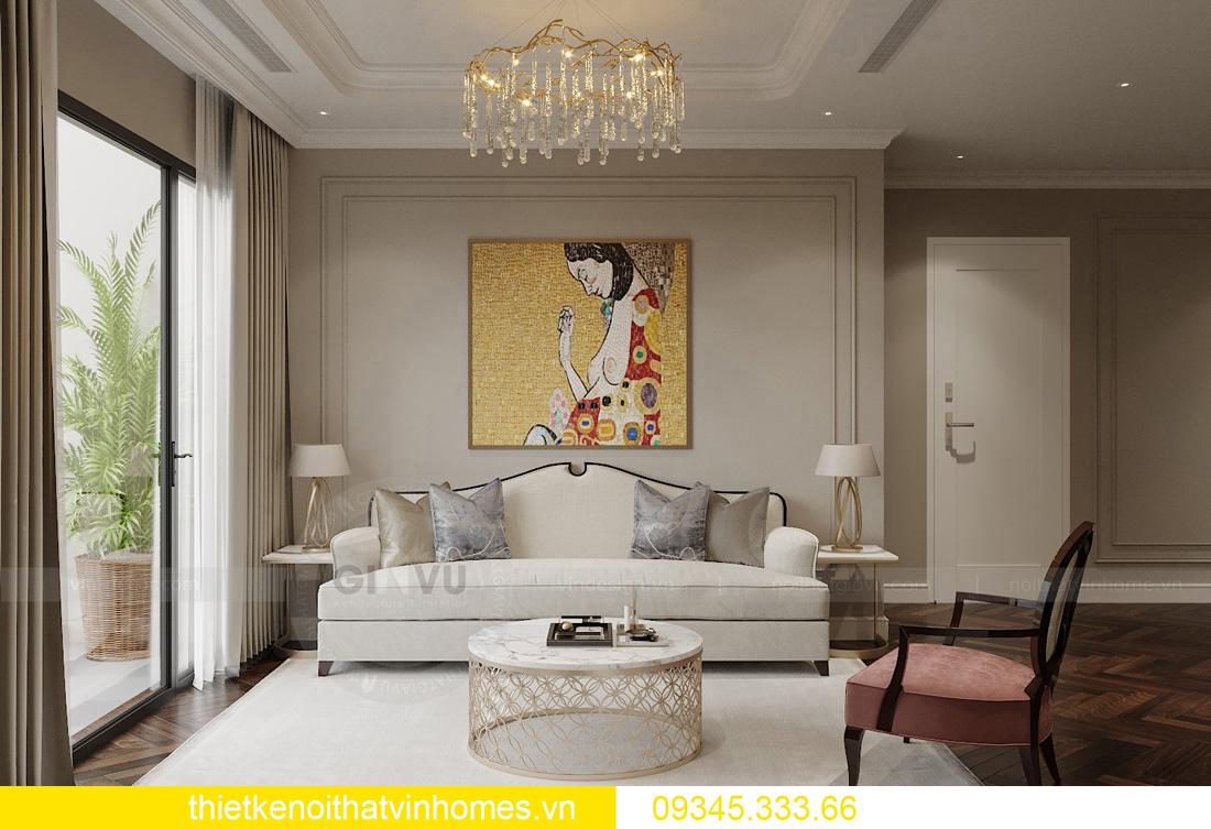 thiết kế nội thất chung cư Vinhomes West Point tòa W3 căn hộ 05A 05