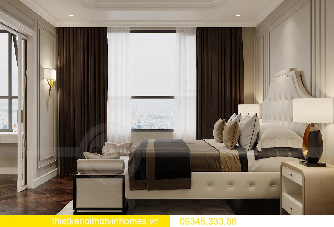 thiết kế nội thất chung cư Vinhomes West Point tòa W3 căn hộ 05A 06