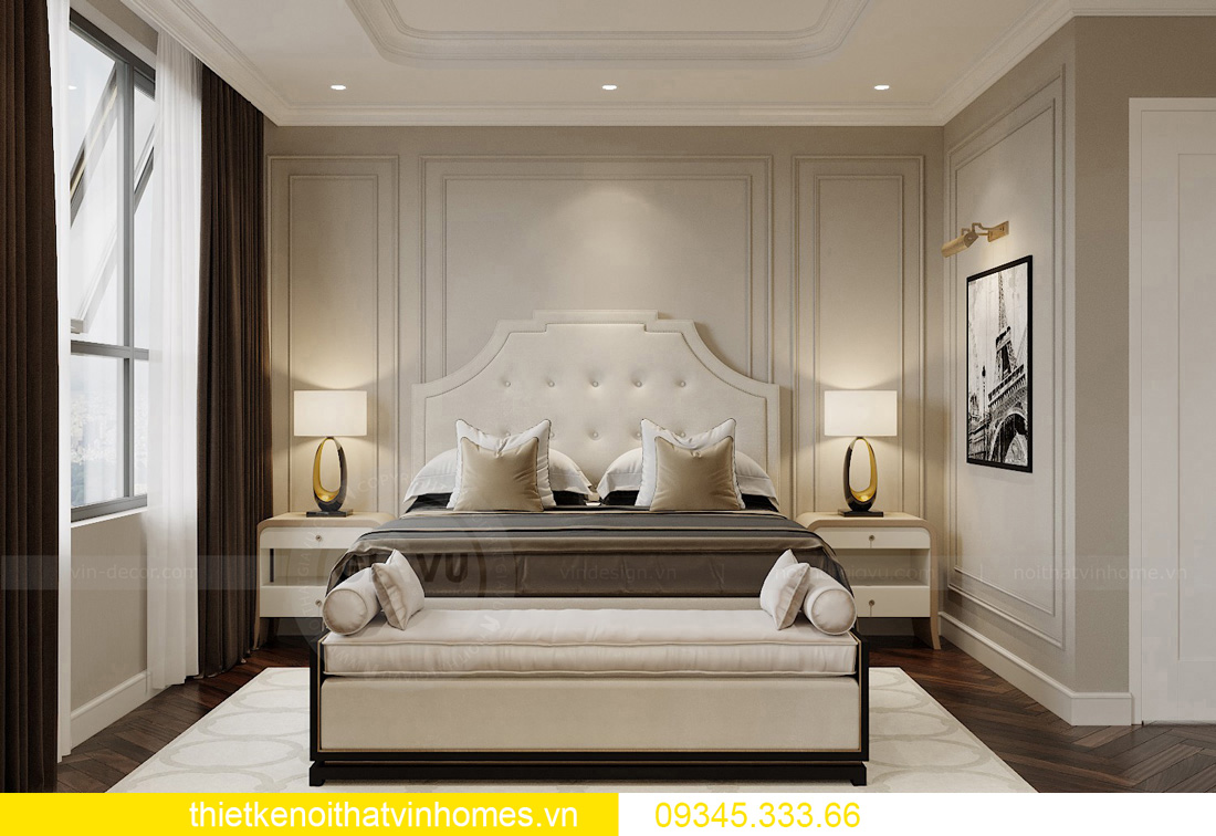 thiết kế nội thất chung cư Vinhomes West Point tòa W3 căn hộ 05A 07