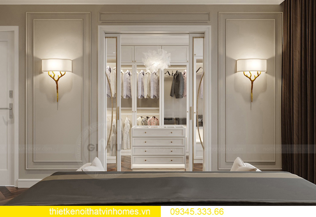 thiết kế nội thất chung cư Vinhomes West Point tòa W3 căn hộ 05A 08