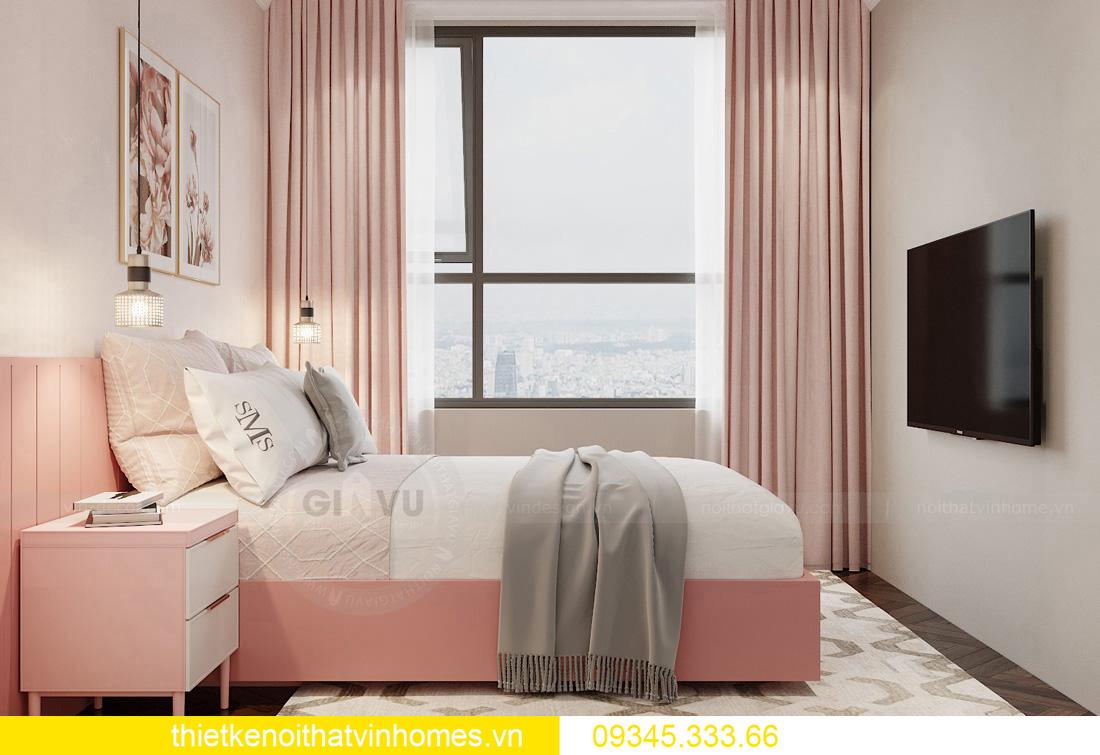 thiết kế nội thất chung cư Vinhomes West Point tòa W3 căn hộ 05A 11