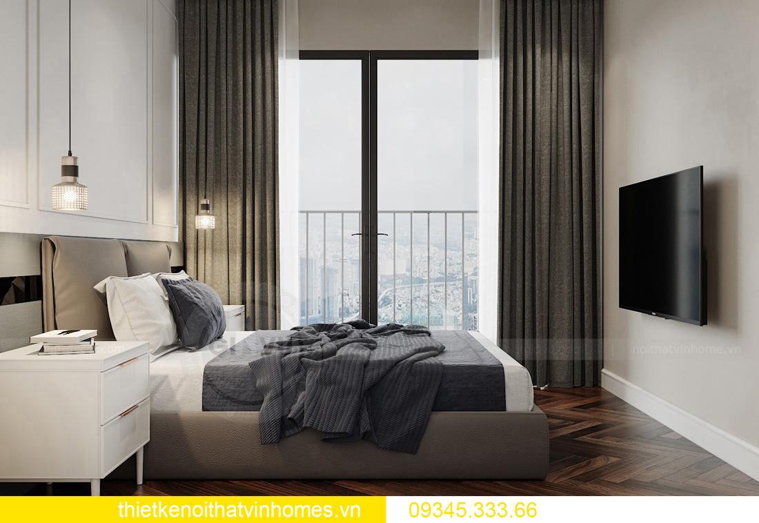 thiết kế nội thất chung cư Vinhomes West Point tòa W3 căn hộ 05A 13