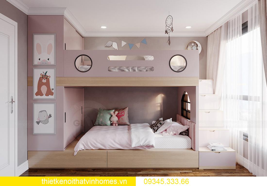mẫu thiết kế nội thất chung cư West Point tòa W2 căn 06 10