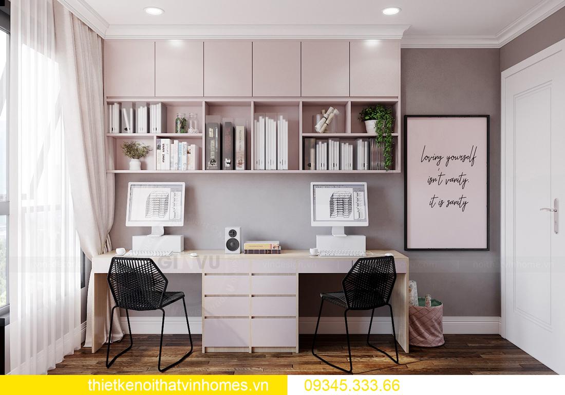 mẫu thiết kế nội thất chung cư West Point tòa W2 căn 06 11