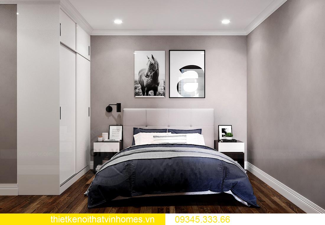 mẫu thiết kế nội thất chung cư West Point tòa W2 căn 06 12