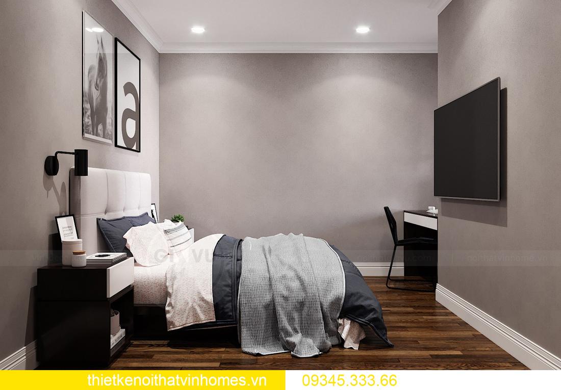 mẫu thiết kế nội thất chung cư West Point tòa W2 căn 06 13