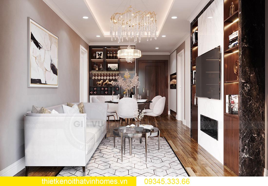 mẫu thiết kế nội thất chung cư West Point tòa W2 căn 06 3