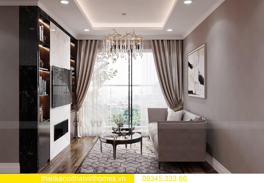 mẫu thiết kế nội thất chung cư West Point tòa W2 căn 06 4
