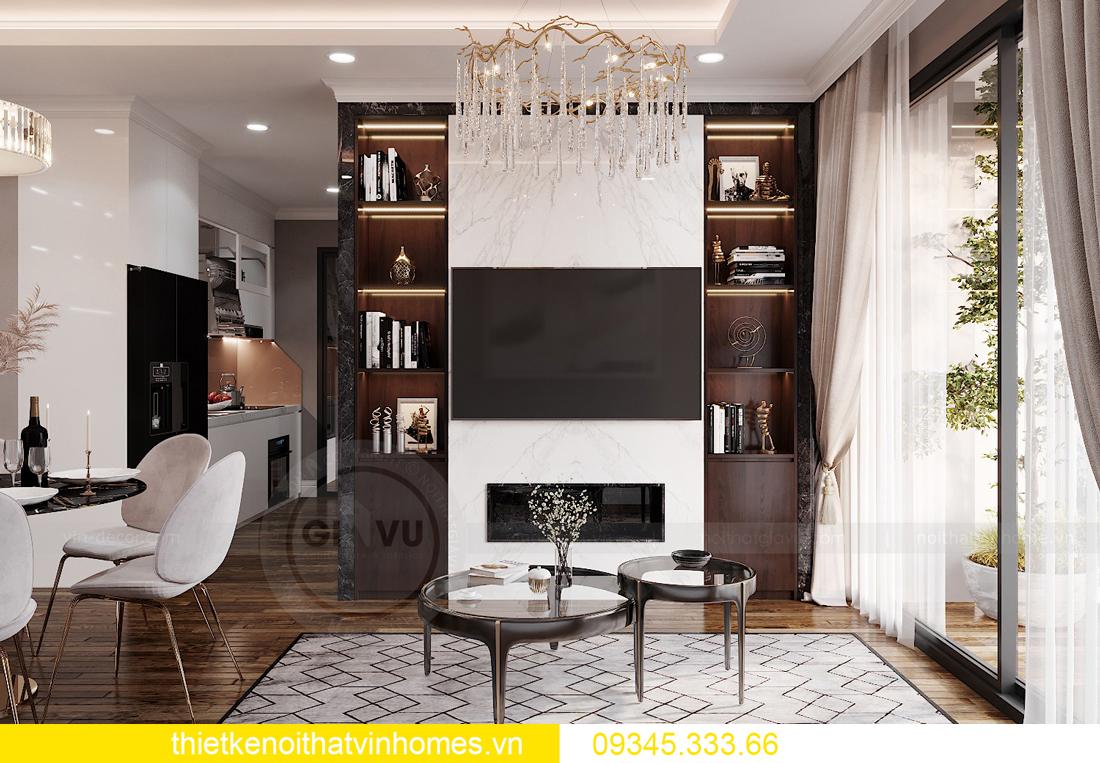 mẫu thiết kế nội thất chung cư West Point tòa W2 căn 06 5