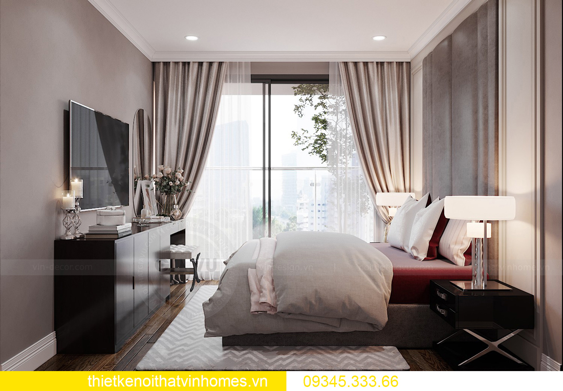 mẫu thiết kế nội thất chung cư West Point tòa W2 căn 06 7