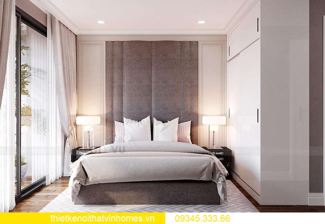 mẫu thiết kế nội thất chung cư West Point tòa W2 căn 06 8