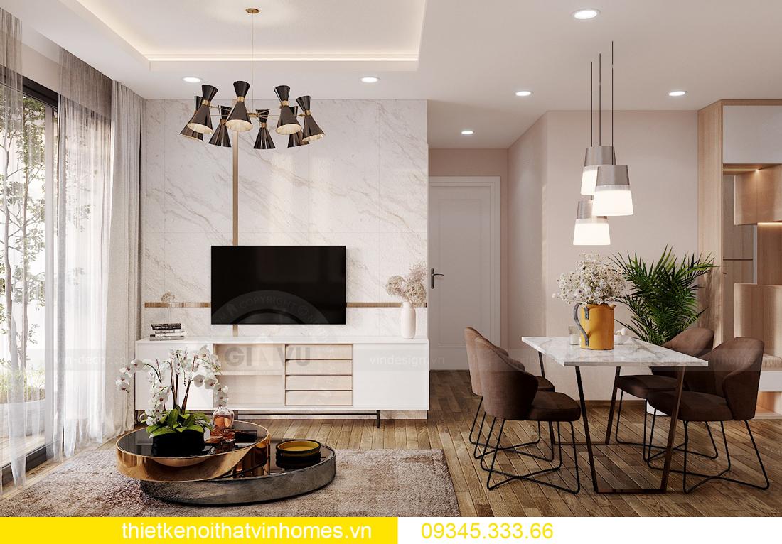 thiết kế nội thất căn hộ West Point tòa W1 căn OT03 CH1 4