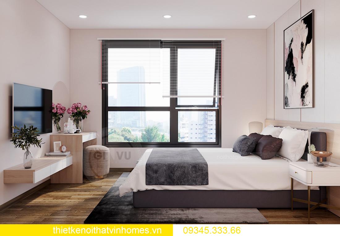thiết kế nội thất căn hộ West Point tòa W1 căn OT03 CH1 6