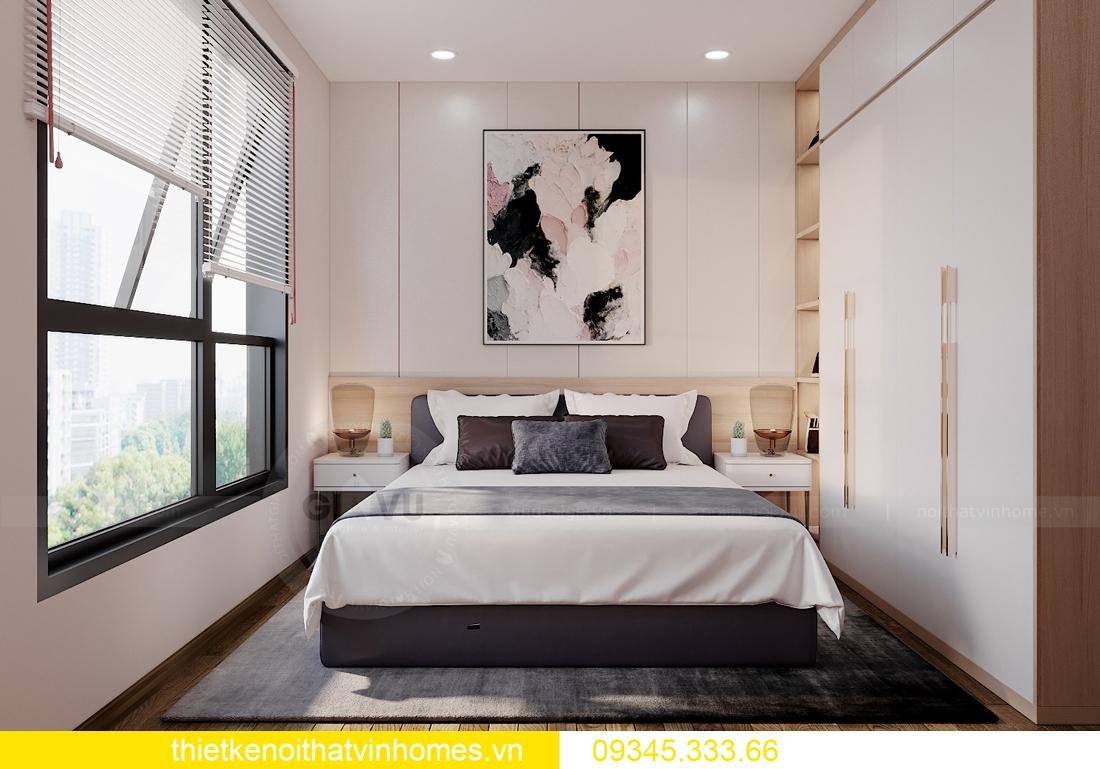 thiết kế nội thất căn hộ West Point tòa W1 căn OT03 CH1 7
