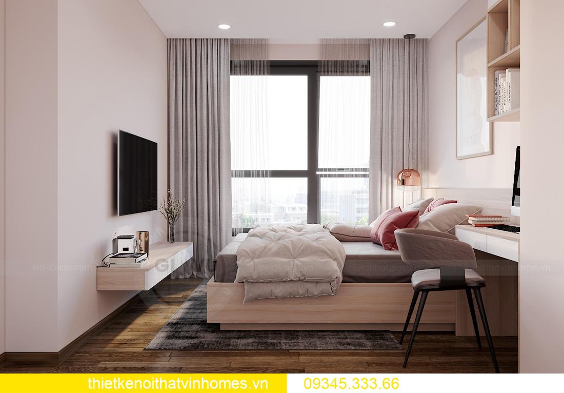 thiết kế nội thất căn hộ West Point tòa W1 căn OT03 CH1 8