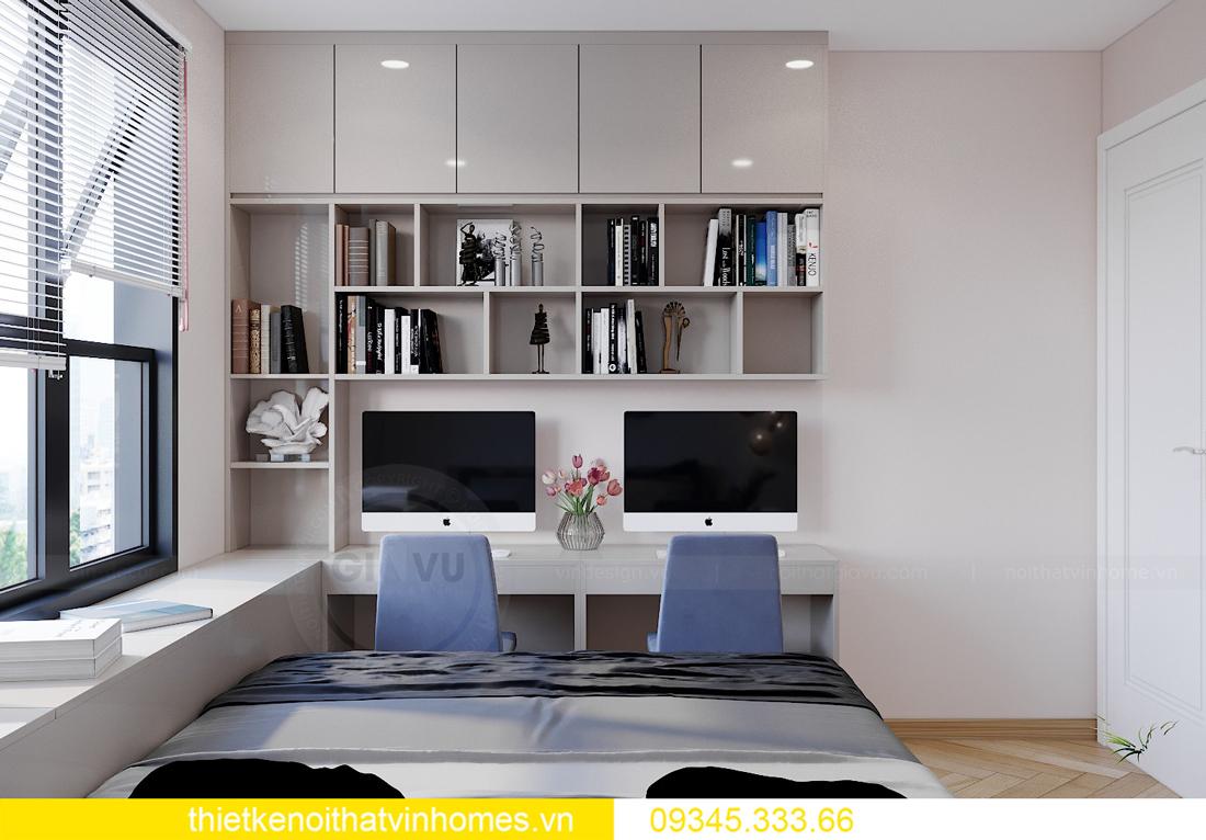 Thiết kế nội thất chung cư Smart City sang trọng tiện nghi 11
