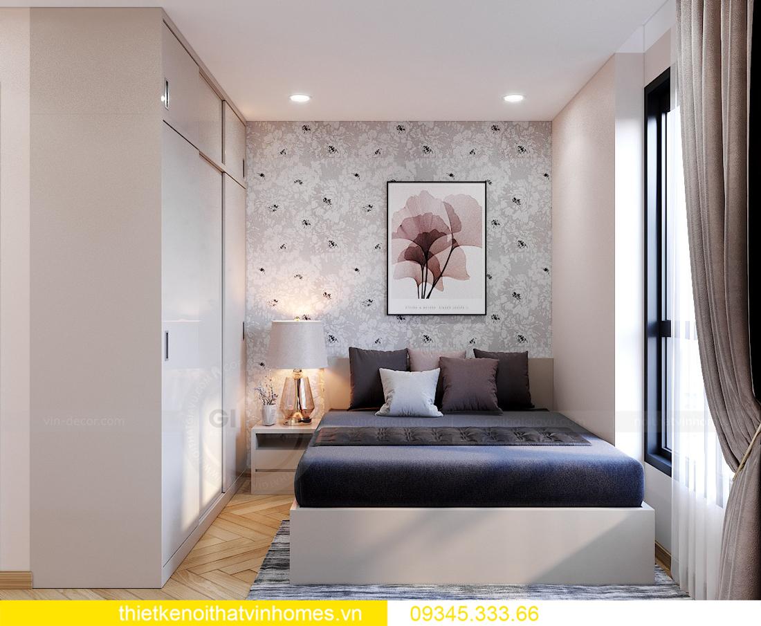 Thiết kế nội thất chung cư Smart City sang trọng tiện nghi 13
