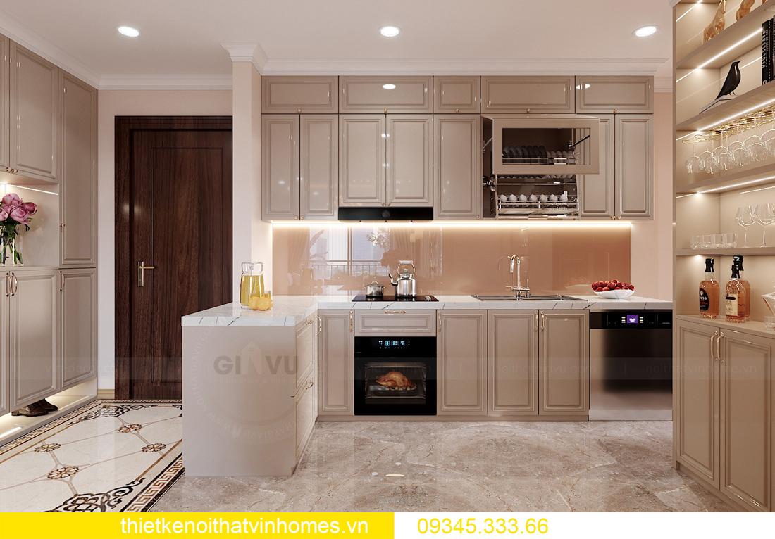 Thiết kế nội thất chung cư Smart City sang trọng tiện nghi 2
