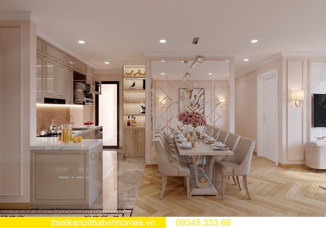 Thiết kế nội thất chung cư Smart City sang trọng tiện nghi 3