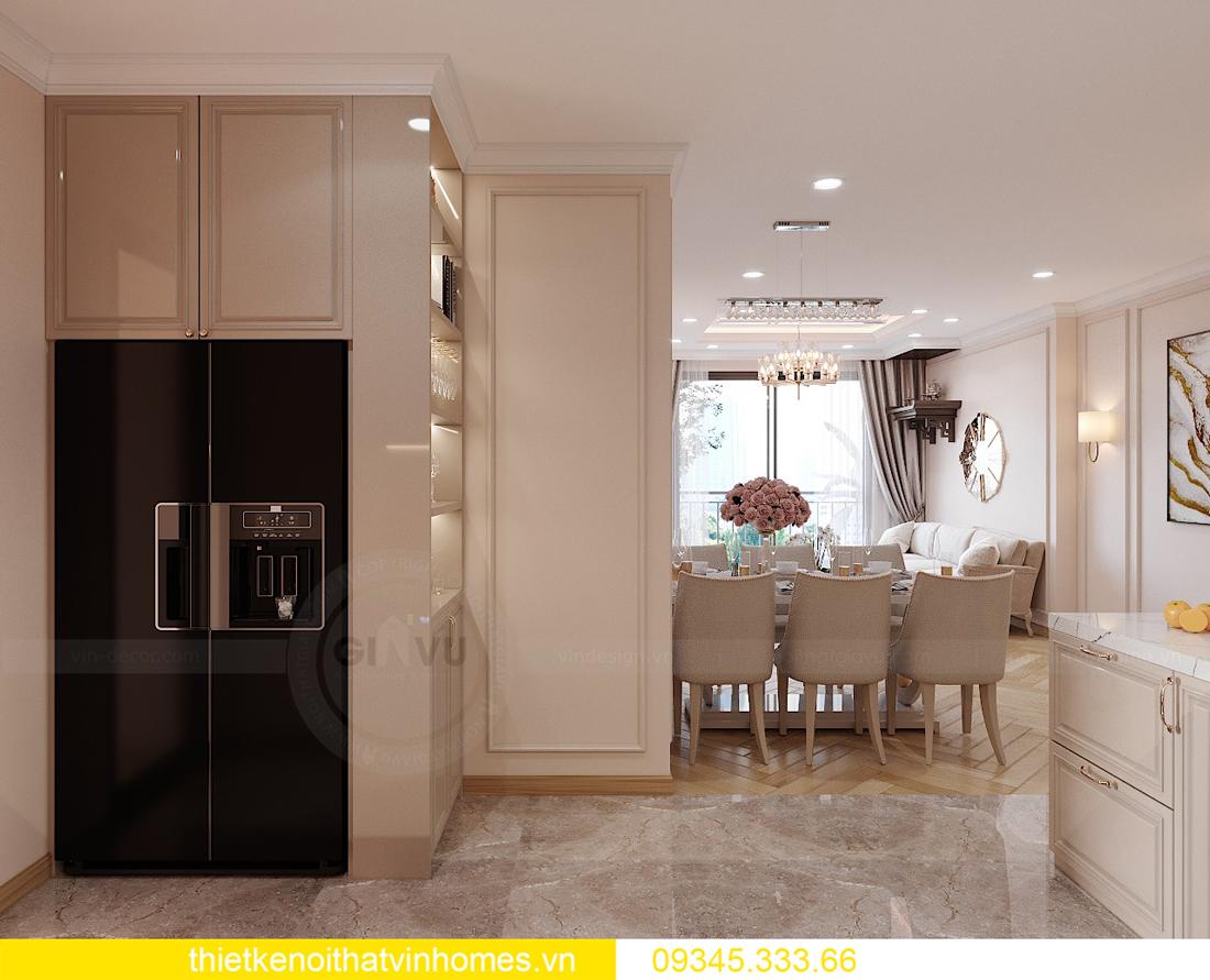 Thiết kế nội thất chung cư Smart City sang trọng tiện nghi 4