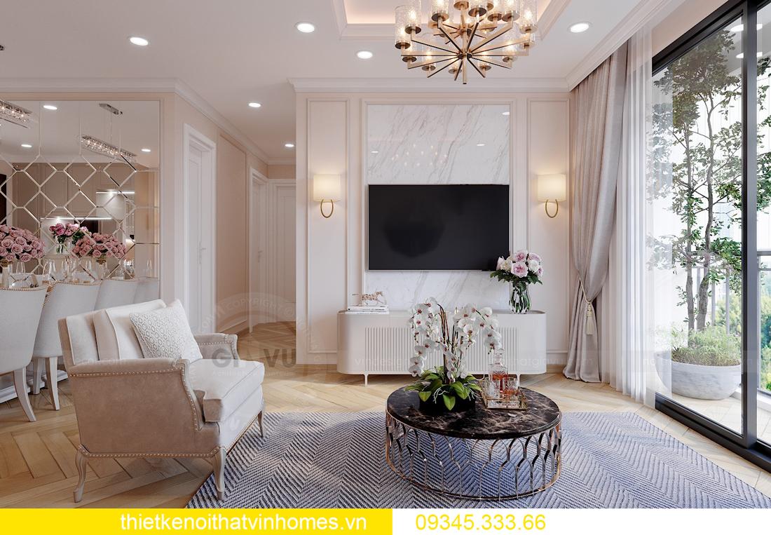 Thiết kế nội thất chung cư Smart City sang trọng tiện nghi 5