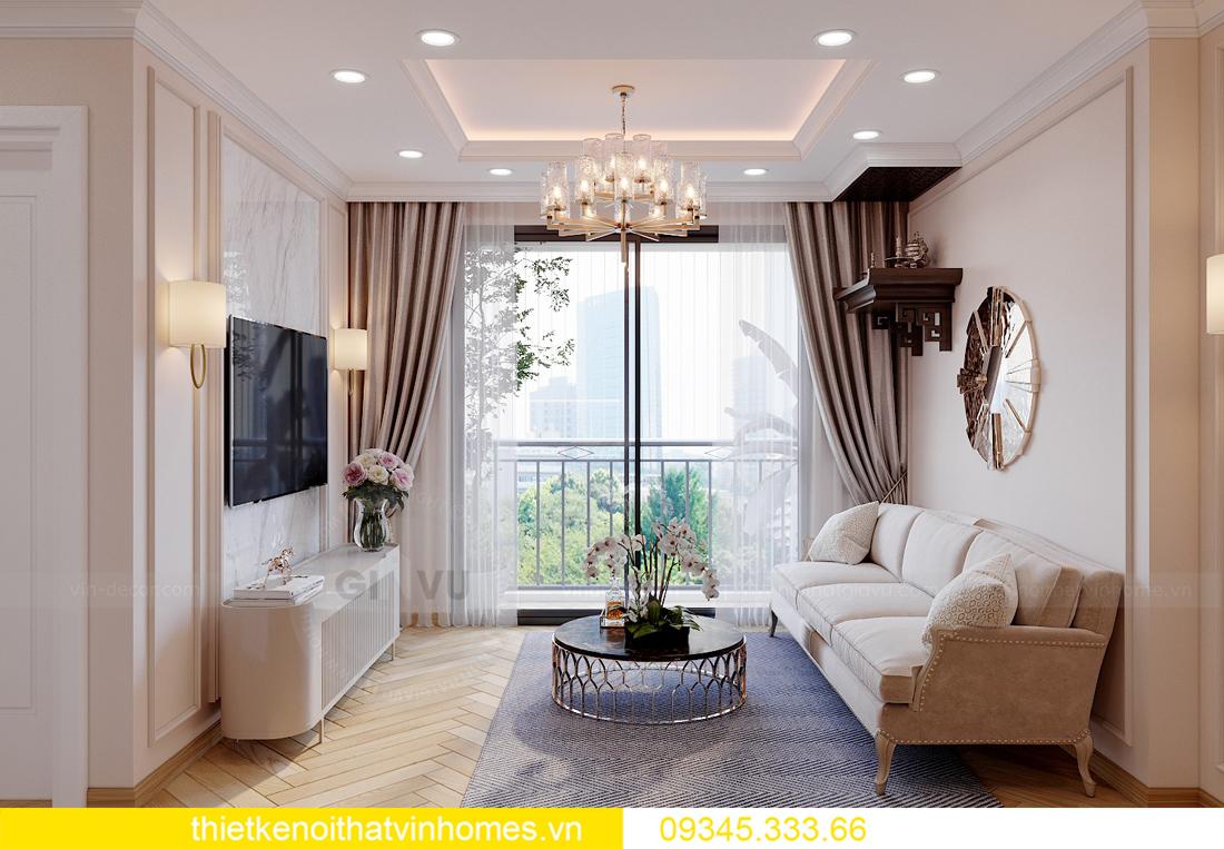 Thiết kế nội thất chung cư Smart City sang trọng tiện nghi 6