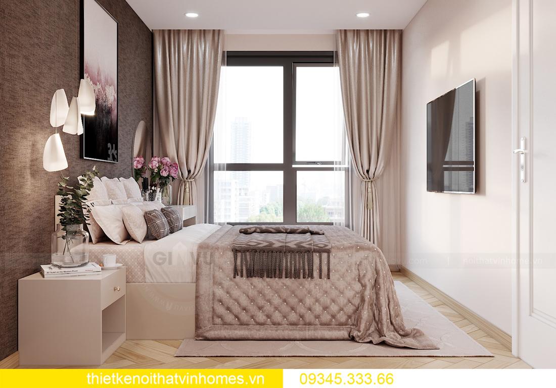 Thiết kế nội thất chung cư Smart City sang trọng tiện nghi 7