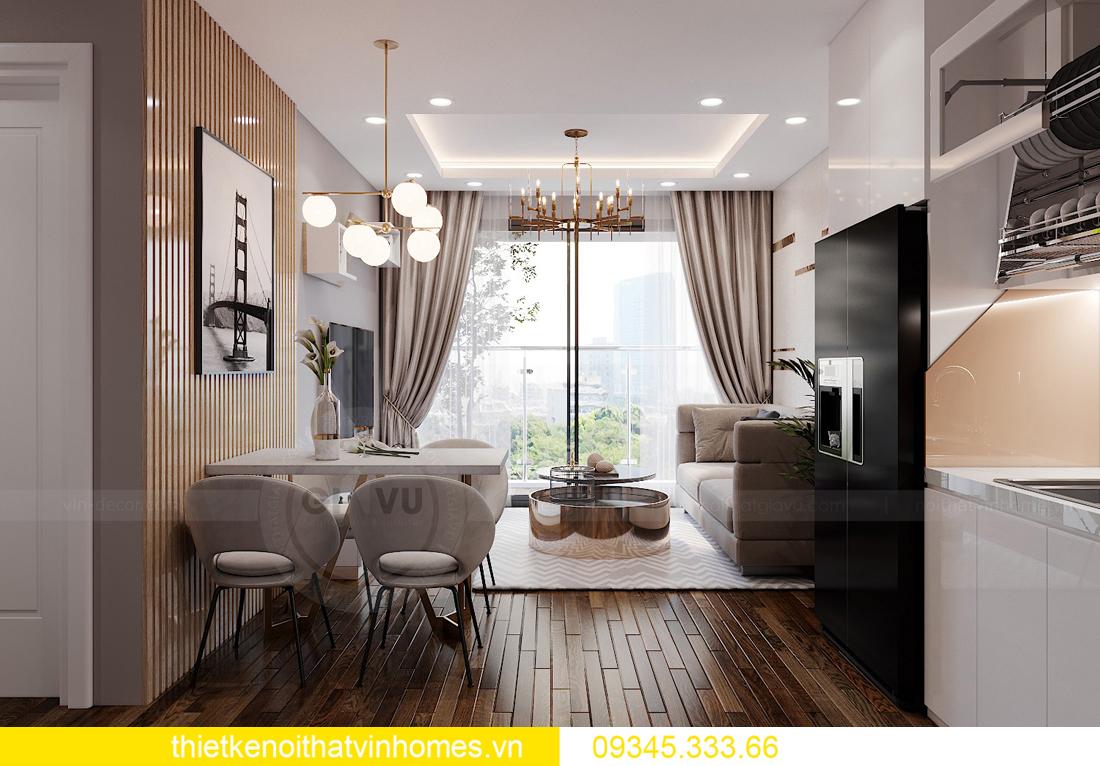 thiết kế thi công nội thất chung cư West Point tòa W2 căn 11A 1