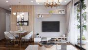 thiết kế thi công nội thất chung cư West Point tòa W2 căn 11A