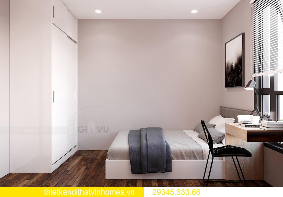 thiết kế thi công nội thất chung cư West Point tòa W2 căn 11A 8
