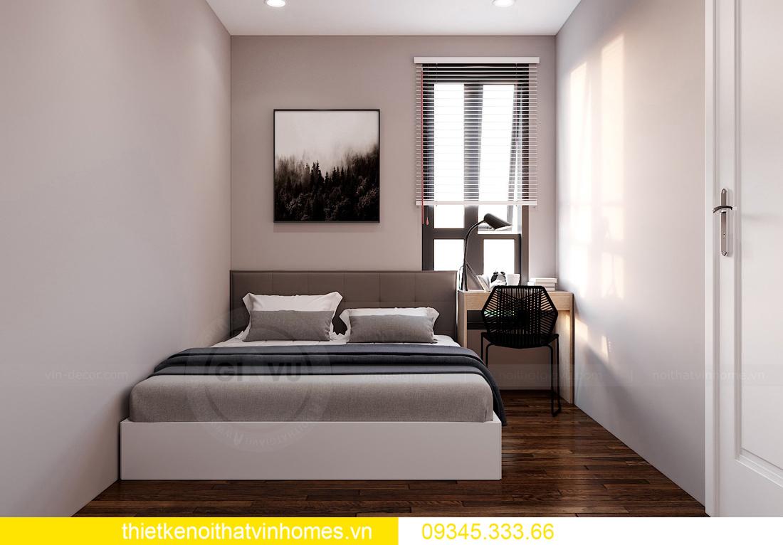 thiết kế thi công nội thất chung cư West Point tòa W2 căn 11A 9