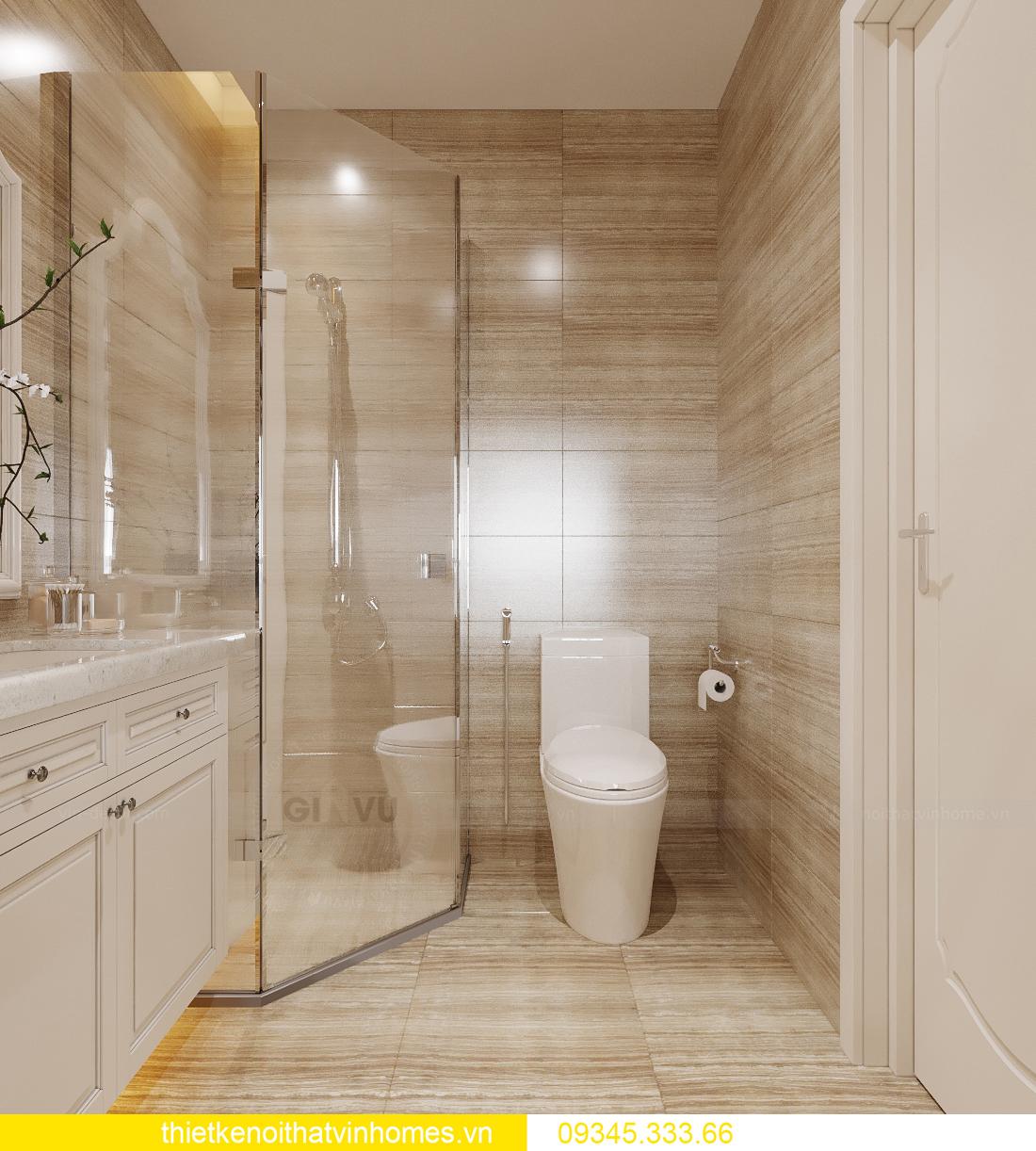 thiết kế nội thất căn hộ chung cư tân cổ điển nhà chị Như 11