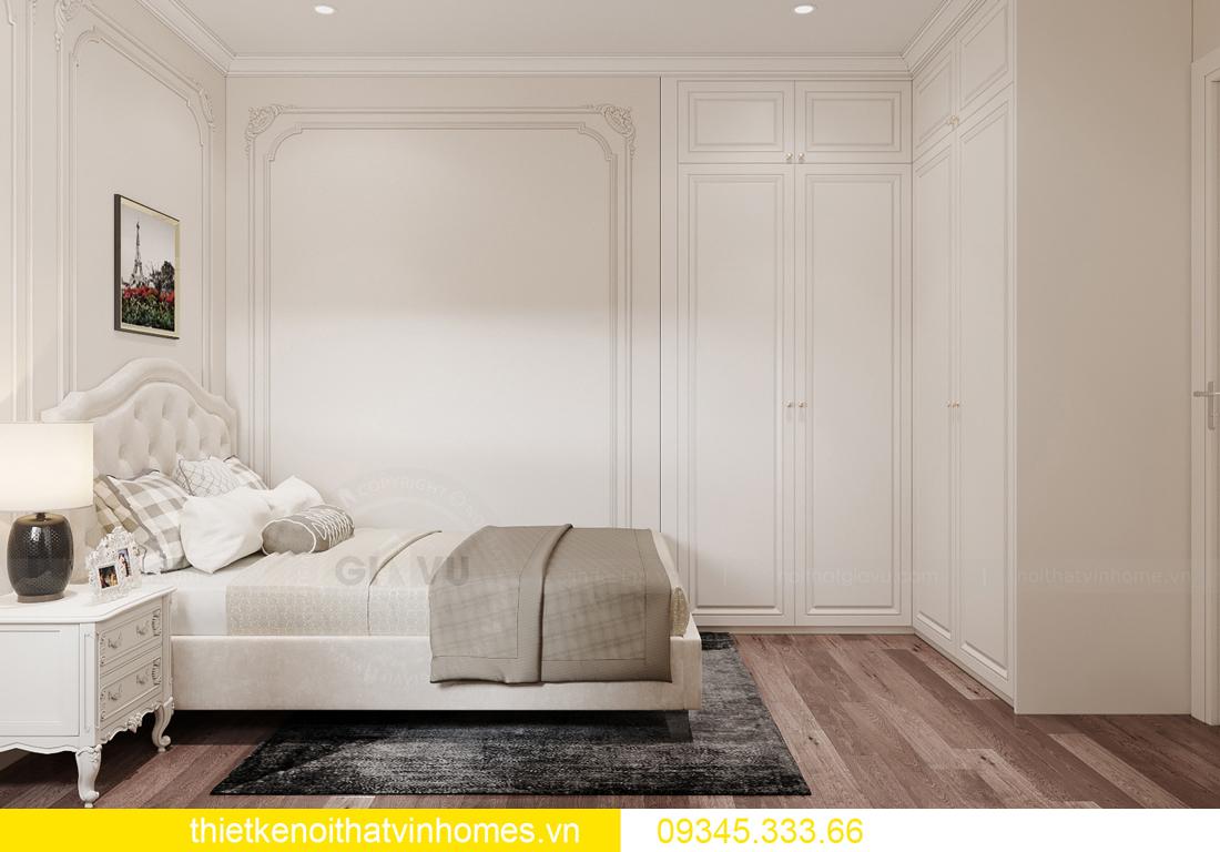 thiết kế nội thất căn hộ chung cư tân cổ điển nhà chị Như 12